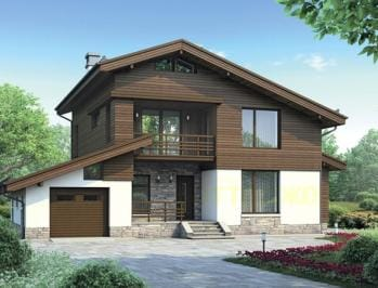 готовые проекты деревянных домов