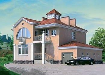 готовые проекты частных домов