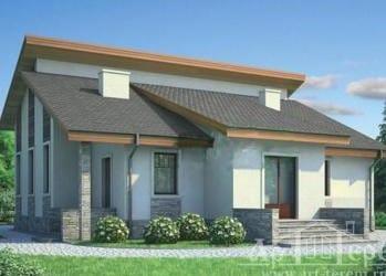 Проект бетонного дома 88-35