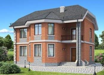 Проект бетонного дома 91-45