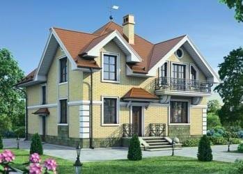 Проект деревянного дома 00-21