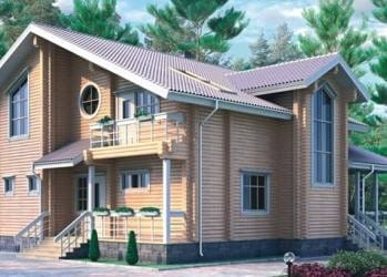 Проект деревянного дома 09-01