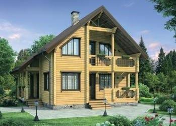 проект домов из бруса в санкт петербурге