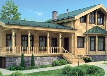 Проект деревянного дома 12-21