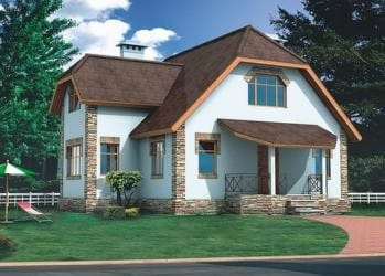 Проект деревянного дома 14-01