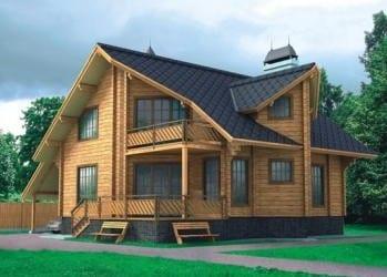 Проект деревянного дома 15-01