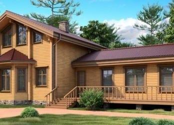 небольшие деревянные дома