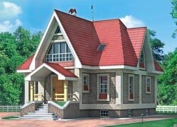 Проект деревянного дома 27-01