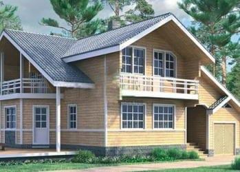 Проект деревянного дома 30-01