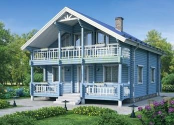 Проект деревянного дома 31-21