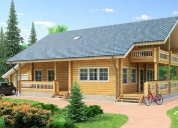 Проект деревянного дома 37-11