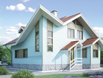 Проект деревянного дома 40-01