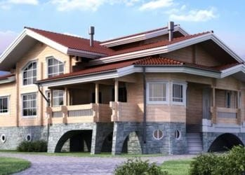 Проект деревянного дома 40-11