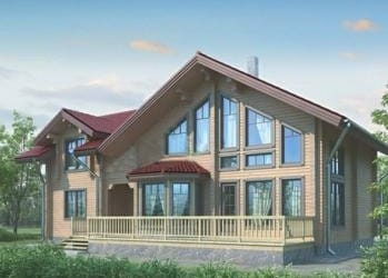 Проект деревянного дома 41-11