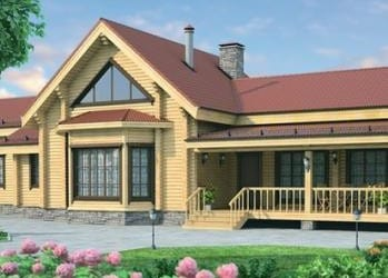 Проект деревянного дома 41-21