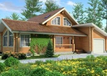 Проект деревянного дома 47-11