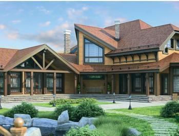 Проект деревянного дома 60-21