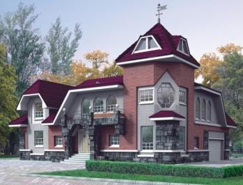 Проект деревянного дома 63-01
