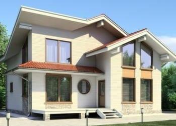 Проект деревянного дома 65-11