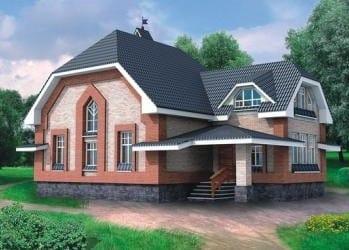 Проект деревянного дома 73-01