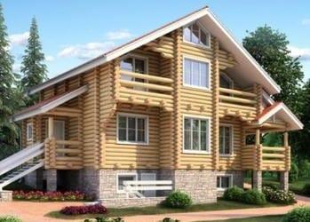 Проект деревянного дома 84-11