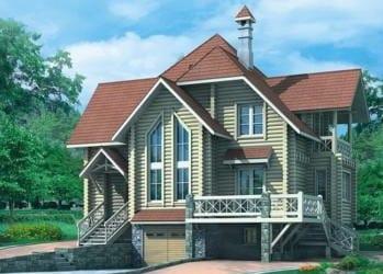 Проект деревянного дома 94-10