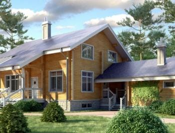 Проект деревянного дома 95-11