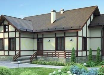 Проект кирпичного дома 04-83