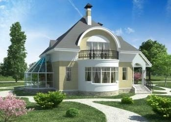 Проект кирпичного дома 07-63