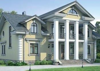Проект кирпичного дома 11-73