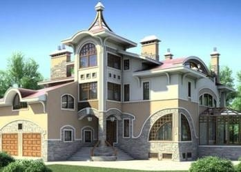 Проект кирпичного дома 12-63