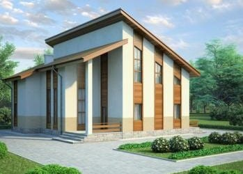 Проект кирпичного дома 16-63