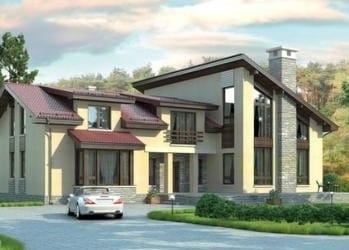 Проект кирпичного дома 19-73