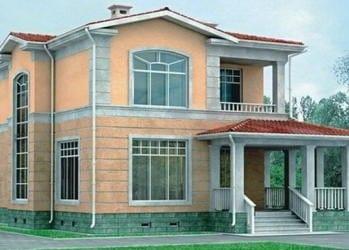 Проект кирпичного дома 22-33