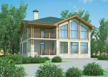 Проект кирпичного дома 22-73