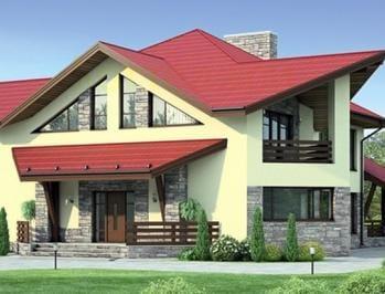 готовые проекты домов из кирпича