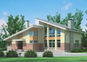 Проект кирпичного дома 30-73