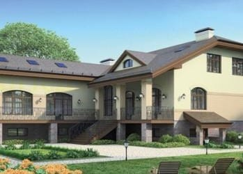 Проект кирпичного дома 32-83