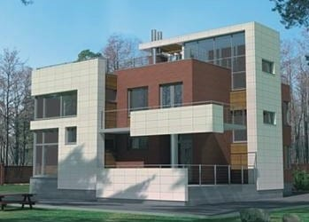 Проект кирпичного дома 36-33