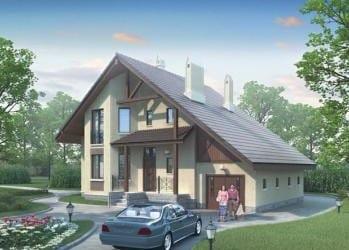 Проект кирпичного дома 37-53