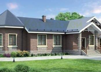 Проект кирпичного дома 51-83