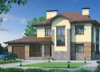 Проект кирпичного дома 63-73