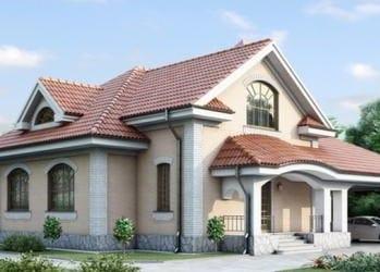 Проект кирпичного дома 66-43