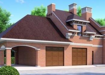Проект кирпичного дома 66-53