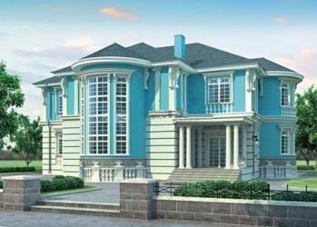 Проект кирпичного дома 67-63
