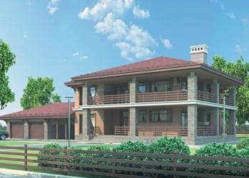 Проект кирпичного дома 69-63