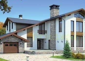 Проект кирпичного дома 69-73