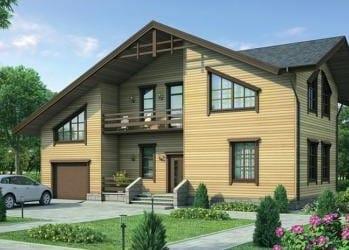 Проект кирпичного дома 76-73