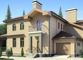 Проект кирпичного дома 88-53
