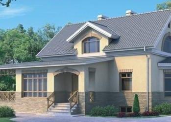 Проект кирпичного дома 89-33